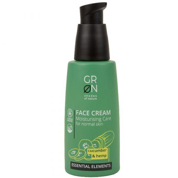 Grön Face Cream Cucumber & Hemp