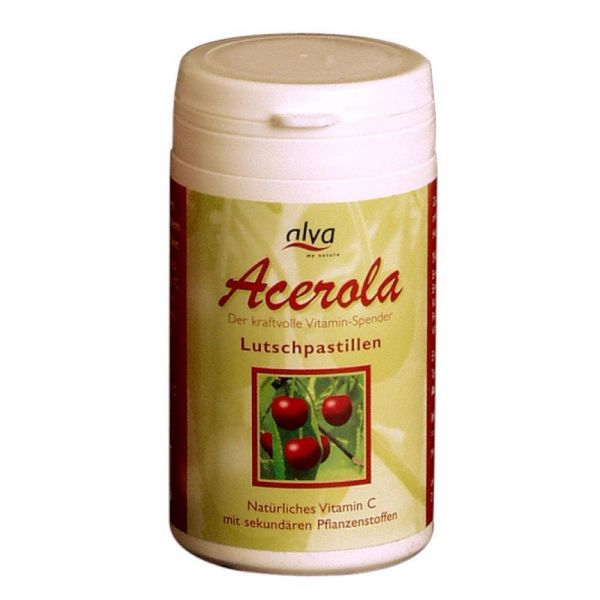 alva Acerola Lutschpastillen rein natürliches Vitamin C
