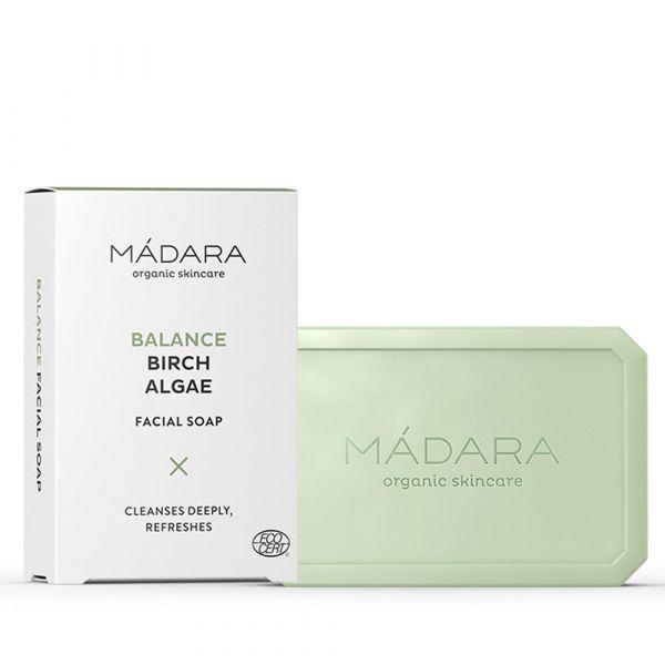 Madara Balance Gesichtsseife Birke und Algen