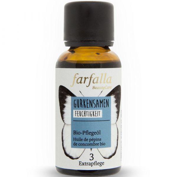 Farfalla Gurkensamen Bio-Pflegeöl 30ml Feuchtigkeit
