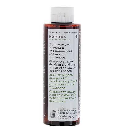 Korres Laurel & Echinacea Anti-Schuppen Shampoo für trockene Kopfhaut