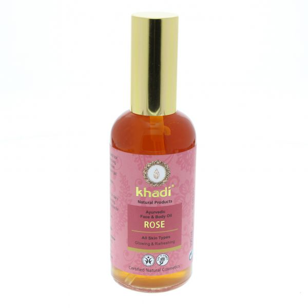 Khadi Gesichts & Körperöl Rose 100ml