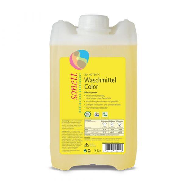 Sonett Waschmittel Color Mint & Lemon 5 Liter