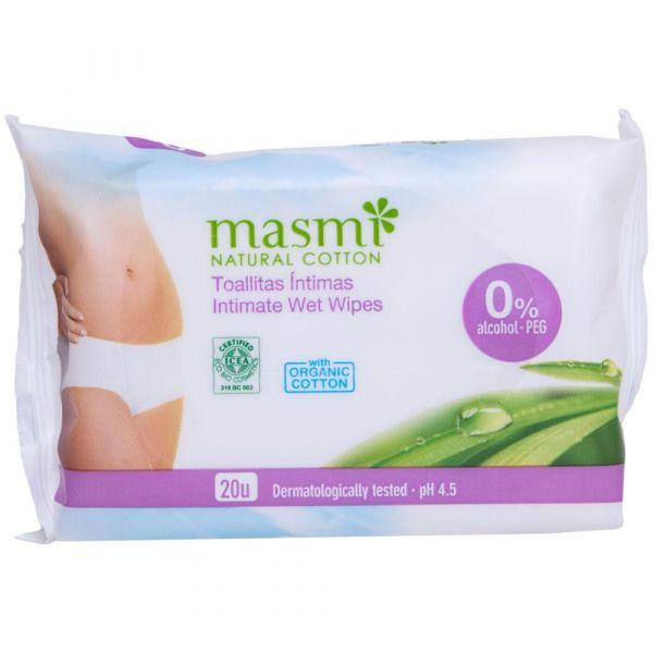 Masmi Bio Intimpflegetücher